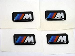 BMW ///M sport wheel Emblem badge (SET 4) sticker decal