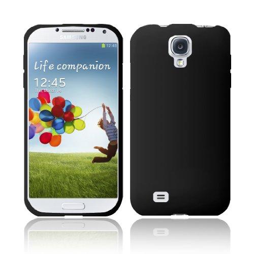 samsung galaxy s4 cases GTE Zone for Samsung Galaxy S4 i9500 Silicone Skin Cover - Black