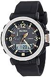 Casio Men's PRO TREK Stainless Steel Japanese-Quartz Watch with Resin Strap, Black, 23.77 (Model: PRG-600-1CR)
