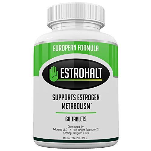 Estro-Halt EU- Estrogen Blocker Pillen für Männer & Frauen | Natürliche Pillen zur Verringerung der Östrogendominanz