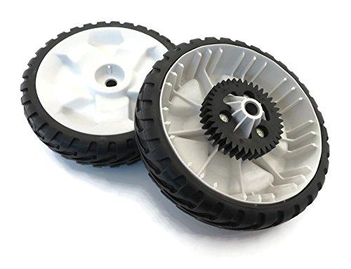 """The ROP Shop (2) OEM Toro 8"""" Wheel Gear Assemblies 138-3216 for RWD Push Lawnmower Lawn Mower"""