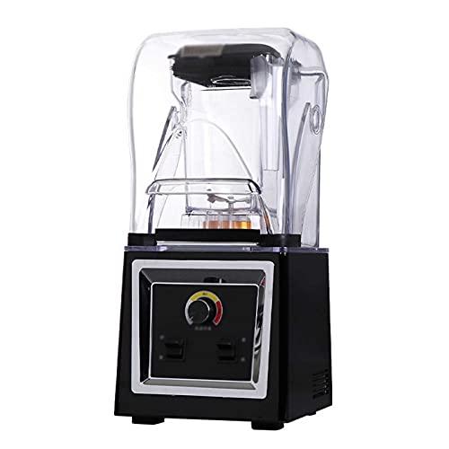 yunyun Comercial Batidora Smoothie,portátil Silencioso Blender,con Capucha Batido Insonorizado Blender,1.8l, Fácil De Limpiar, Resistencia A Altas Temperaturas, Utilizado para Deportes, (20x22x55cm)