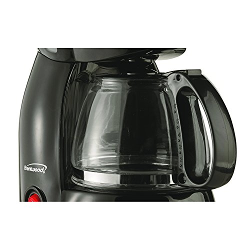 Brentwood Coffee Maker, 4-Cup, Black