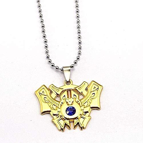 ZGYFJCH Co.,ltd Collar Juego Collar Liga 7 Rango Colgante Moda Leyendas Héroe Collares Regalo de niño Accesorios de joyería
