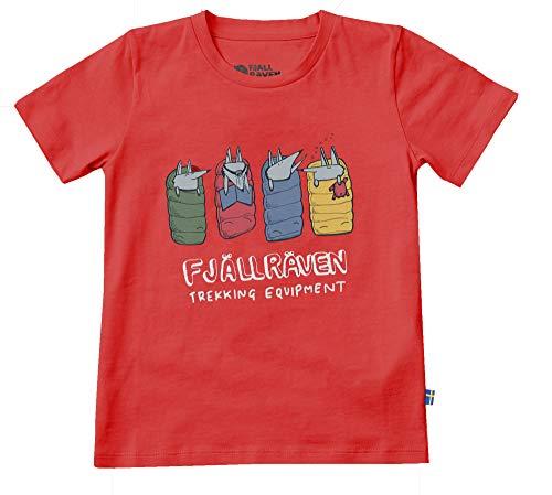 FJÄLLRÄVEN F82427 T-Shirt Mixte Adulte, Rouge, FR Unique (Taille Fabricant : 140)