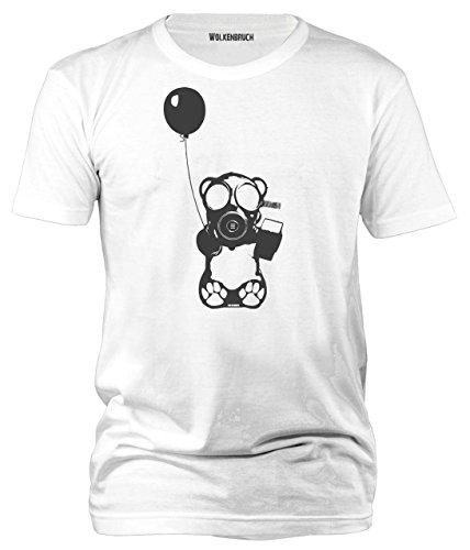 Überwachung Gr.S-XXXXXL Wolkenbruch® Herren T-Shirt Augen auf