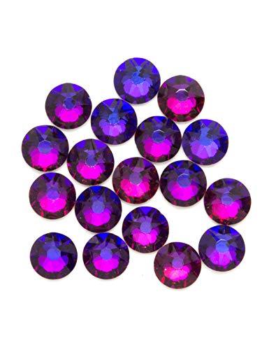 Swarovski - Create Your Style Xirius Rose Flat Back Crystals, Rainbow 18 Piece