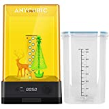 ANYCUBIC Wash and Cure Station, Newest Upgraded 2 in 1 Wash and Cure 2.0 Machine for Mars Photon S Photon Mono LCD SLA DLP 3D Printer Models UV Rotary Curing Resin Box