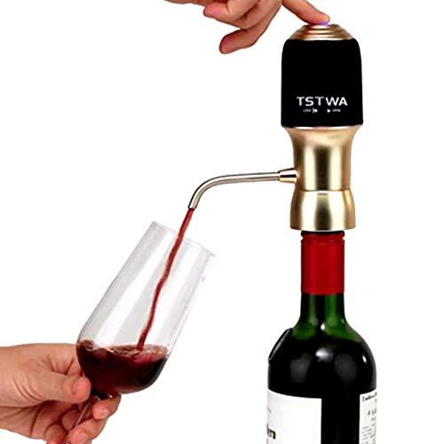 Show, aeratore a Pressione per Vino, Decanter Intelligente, Portatile, elettronico, apribottiglie per Vino, aeratore per Vino, Tappo sottovuoto, cavatappi Elettrico per casa, Feste