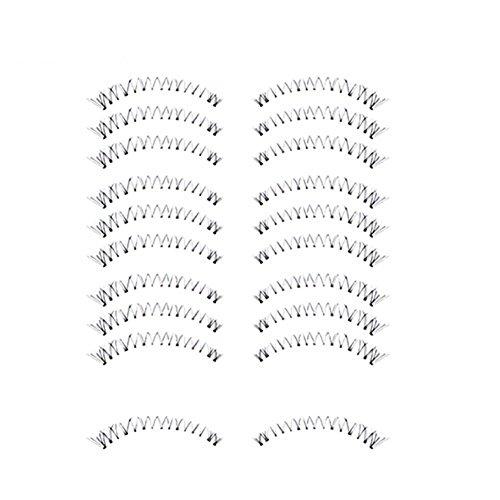 Bluelans® 10 Paar Unterwimpern Falsche künstliche Wimpern Schwarz Eyelasches Wimpernverlängerung Make-up (HX-6)