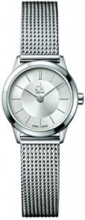 Calvin Klein Analog Stainless Steel Band Dress Watch for Women