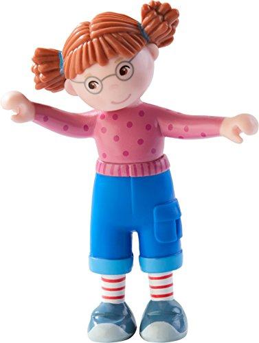 HABA 303673 - Little Friends – Connis Freundin Anna | Süße Minipuppe ab 3 Jahren | Die Biegepuppe ist ein perfektes Geschenk für alle Conni-Fans