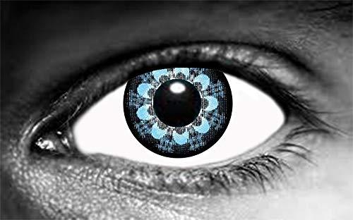 Farbige Linse Focus, Blau