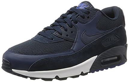 Nike Air Max 90 Essential, Zapatillas Hombre, Azul (Armor Nav/Armor Nav/Blue Ja/White), 43 EU