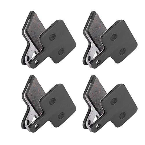 Pastillas de Frenos 4 pares (8pcs) Cojines de freno de disco de bicicleta Bicicleta de montaña Cojín de freno de disco hidráulico semimetal Semimetal Compatible con Shimano B01S M375 M395 M446 Durable