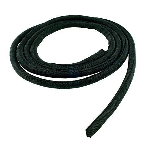 2 m Kabelschutzschlauch selbstschließend Kabelschlauch Gewebeschlauch 8 mm Durchmesser