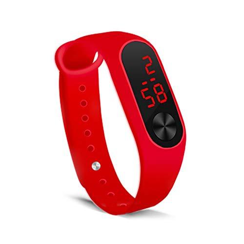 Unisex Teen Girls Boys LED Wrist Band Silicone Student Electronic Sports Wristband Bracelet Wholesale Wristband