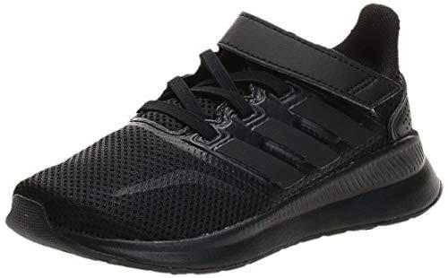 adidas Unisex-Kinder Runfalcon Road Laufschuhe, Schwarz (Core Black/Core Black/Core Black), 31 EU
