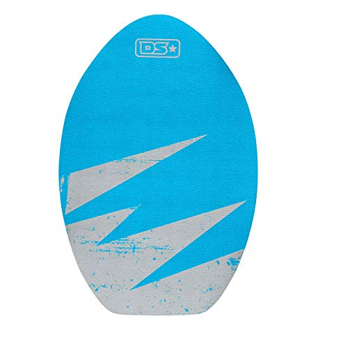 Driftsun 30 Inch Wood Skim Board with XPE Traction Pad, Lightweight and Durable, Ideal for All Skill Levels