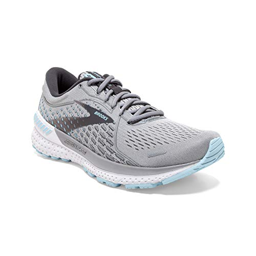 Brooks Adrenaline GTS 21 Oyster/Alloy/Light Blue 8.5 2A - Narrow