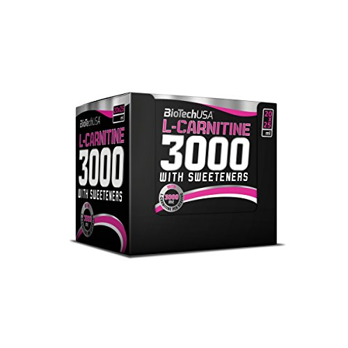 L-Carnitine Ampulle 3000 Orange 20 * 25ml - Carnitin-Shots hochdosiert - BiotechUSA