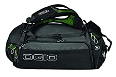 Adjustable backpack style shoulder straps with adjustable sternum strap ventilated mesh shoe and dirty clothes compartment Wet/dry pocket with 360 ventilation gusset Highly reflective 3M-Tech fabric delivers exceptional visibility in low light Crush ...