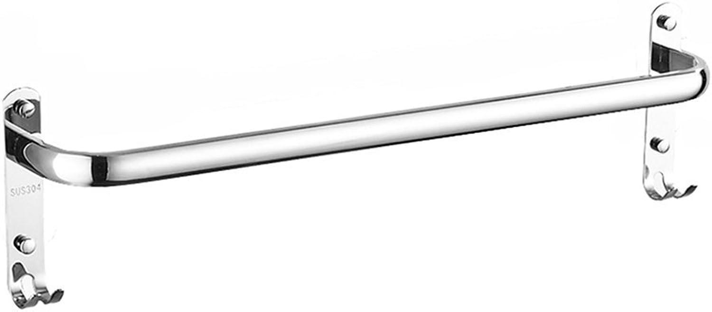 varios tamaños ZDNALS Toallero, Libre de perforación Single Shot bao de Acero Acero Acero Inoxidable Toalla 30 cm, 40 cm Toallero (Talla   70cm)  tienda de venta
