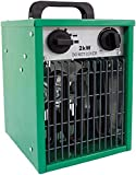 Best Garage Heaters - Prem-i-air 2kW Industrial Fan Space Heater powerful heater Review