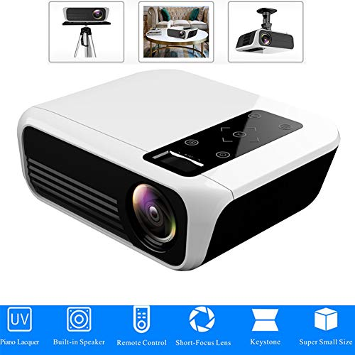 LED-projector 1920 * 1080 Full HD 1080p Android 7.1 3000 lumen Amlogic S905 2G 16G Proyector Optionele thuisbioscoop van Beame, Basicversie.