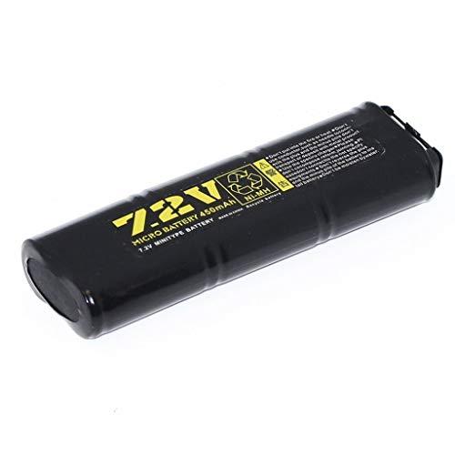 Well 7,2V 450mAh NI-MH Rechargeable Batterie für Airsoft AEG Vz61 / MP7 / MAC10 / R2 / R4