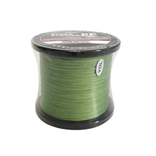 """500m-020mm-9,1 kg-Verde trenzado era cuerda Spectra /""""dynema/"""""""