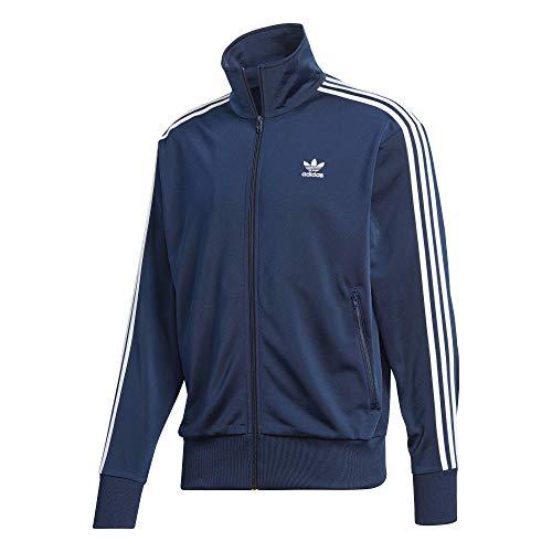 adidas Originals mens Firebird Track Jacket Collegiate Navy/White Large