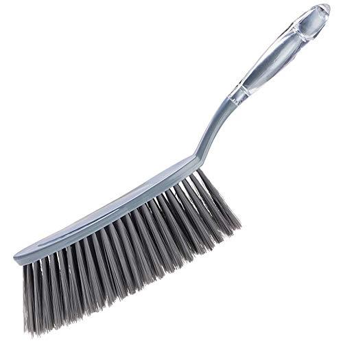 NJIUHB Broom, Mini Borstel Broom veegmachine PET borstelharen Soft hoge elasticiteit Slijtvaste gemakkelijk te gebruiken muur bevestigde, 14,2 * 2.6in