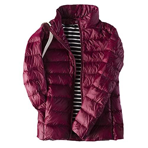Donne Ultraleggero Sottile Anatra Bianca Giù Con Cappuccio Giacche Caldo Cappotto Giù Outwear, Air Max Dynasty, Large