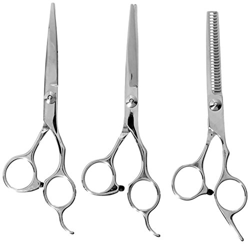 ColorPet Curved Scissor Set- Perfect For Pet Grooming, Durable Stainless Steel by ColorPet