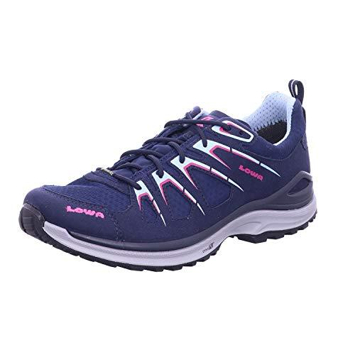 Lowa Chaussures d'extérieur Innox Evo GTX pour femme - Argenté - bleu, 39 EU
