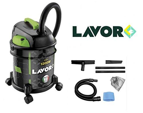 Aspiratore/Aspirapolvere/Aspiratutto Solidi e liquidi 1200W 20lt. Lavor - Rudy 1200S (cod.:4603)