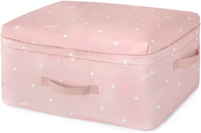 Price reduction Smile Max 87% OFF Diary Foldable Clothes Storage Blanket Pillow St Bag Quilt