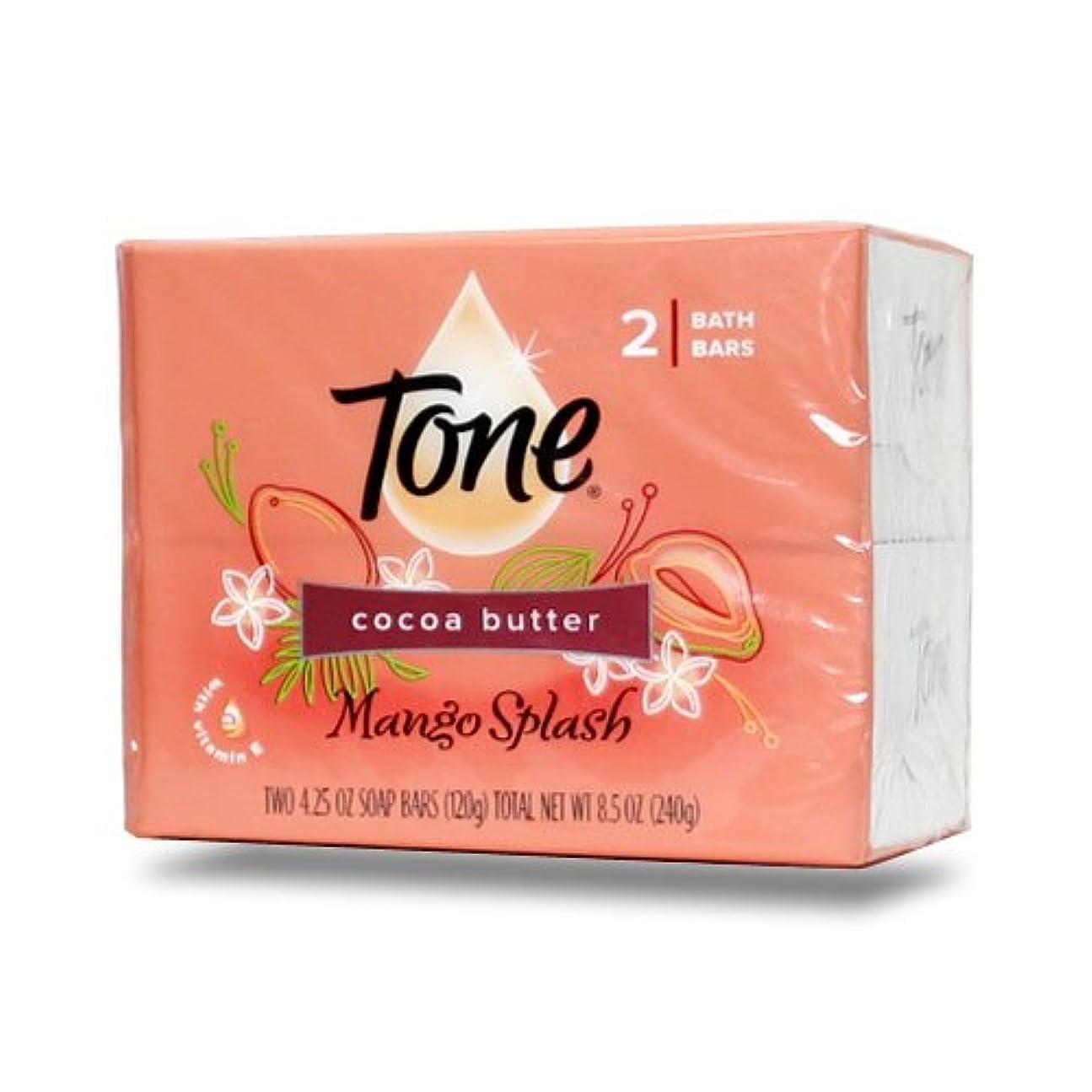 地区推測するゴージャス【Tone】トーン石鹸(マンゴスプラッシュ)120g×2個パック