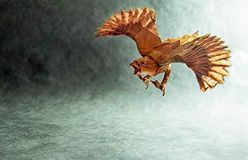 Lsping Puzzles 3D niños 500 Piezas Pájaros-Origami-Papel 52x38cm