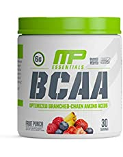 MP Essentials BCAA Powder, 6 Grams of BCAA Amino Acids, Post-Workout Recovery Drink for Muscle Recovery and Muscle Building, Valine Powde