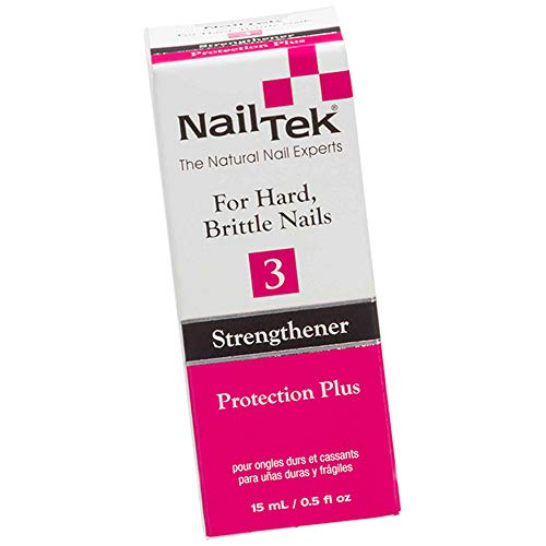 Nail Tek Nail Treatments - Strengthener - Protection Plus III - 0.5oz / 15ml