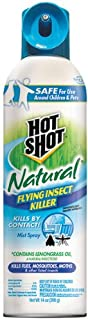 Hot Shot Natural Flying Insect, Aerosol, 14-Ounce