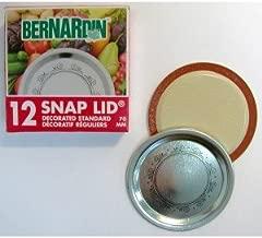 Bernardin Mason Jar Lids - Standard - Swirls