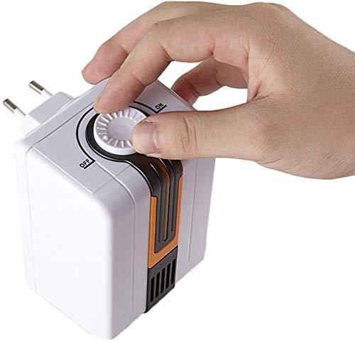 Zyyqt Purificador de Aire, Limpiador casero de Aire ionizador de Aire Elimina el Dormitorio Alérgenos aliviar el asma de heno Fiebre del Desodorante Socket Typers