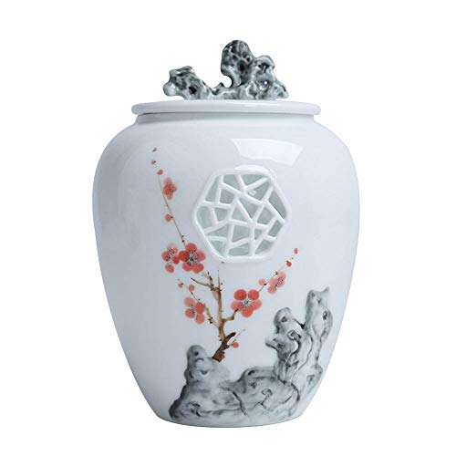 Alqn Ceramic urn, Cremation urn of Human Ashes, Commemorative urn