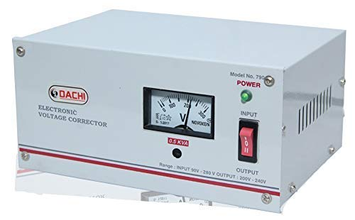 DACHI 0.5 KVA Voltage STABILIZER for Single/Double Door...
