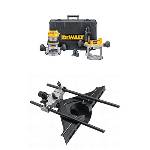 DEWALT DW616PK 1-3/4 Horsepower Fixed Base Plunge...