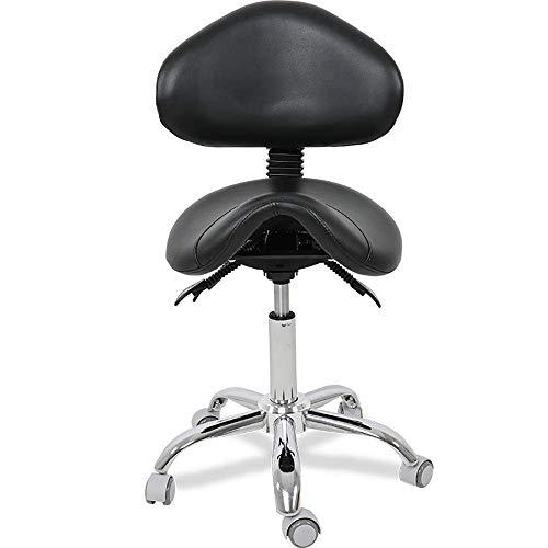 HEWEI Chaise pivotante de Tabouret de Salon de roulement pour Le Coiffeur de beauté de Spa de Tatouage