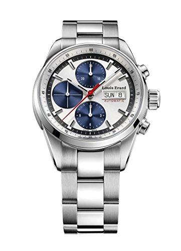 Reloj Automático Louis Erard Héritage Sport, Plata, Cronógrafo, 78104AA11.BMA22